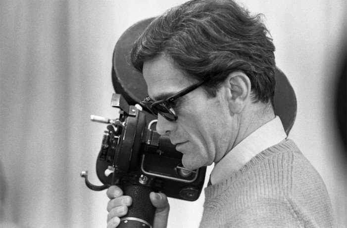 pasolini with camera