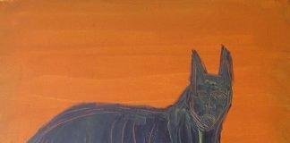 lukisan anjing