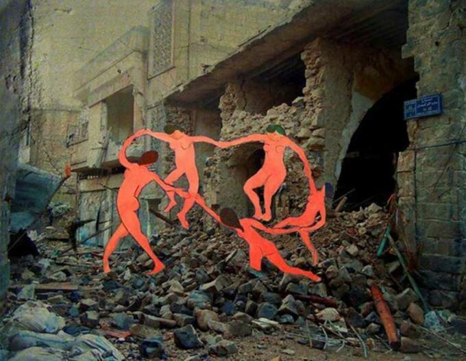 Matisse's La Danse - Tammam Azzam