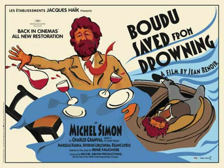 film komedi perancis - boudu saved from drowning - jean renoir