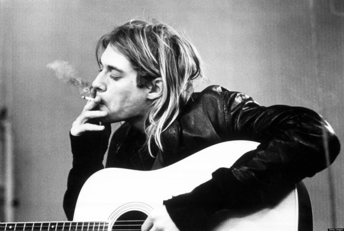 Foto Cobain dan Nirvana