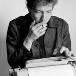Bob Dylan with Typewriter