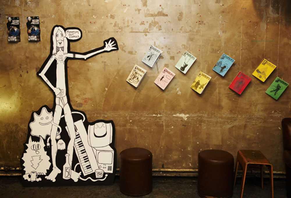 wall of comics