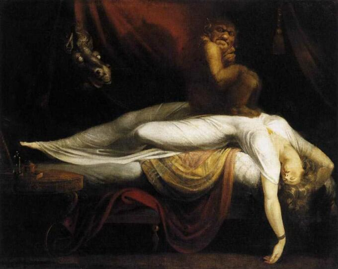 The Nightmare - Henry Fuseli (1781)