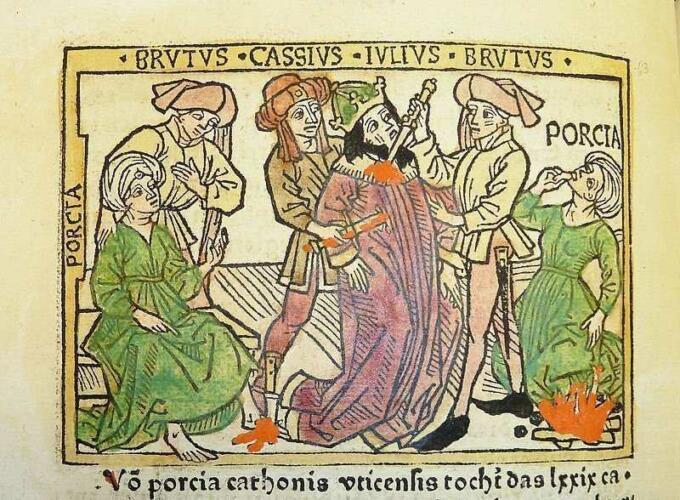kekerasan politik: Assasination of Julius Caesar