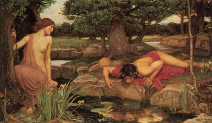 John William Waterhouse - Echo and Narcissus