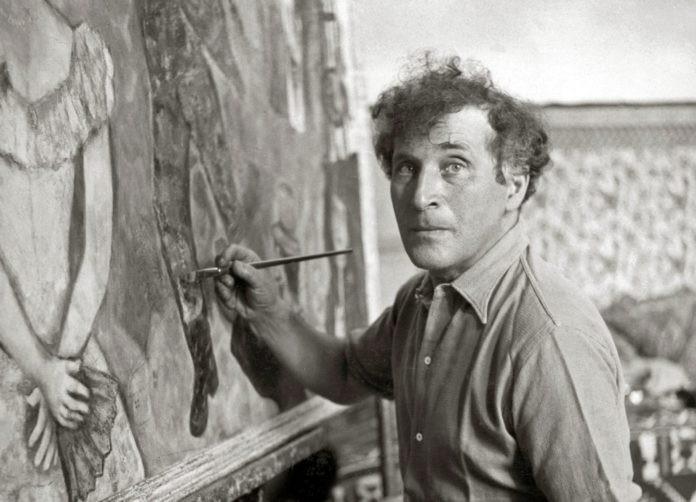 marc chagall - peignant