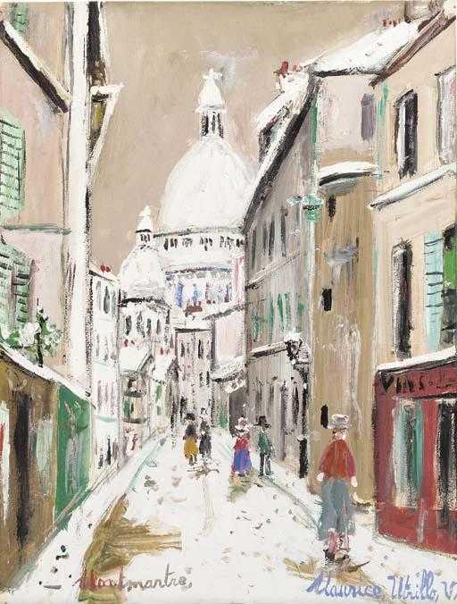 The Sacre Coeur Montmartre
