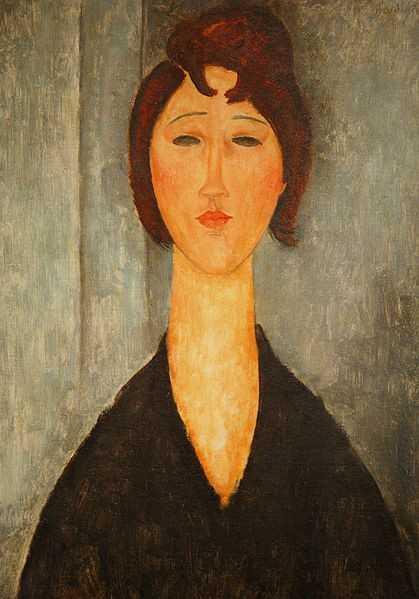 Empty Eye Modi 2 lukisan modigliani,lukisan mata,pelukis italia yang terkenal,amedeo modigliani,lukisan potret