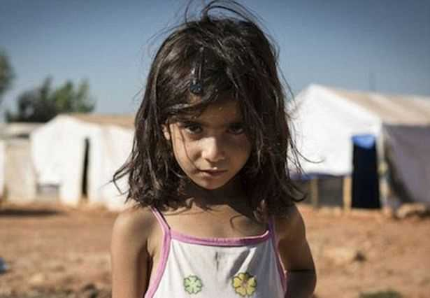 Syrian Refugee Girl - Save the Children Campaign