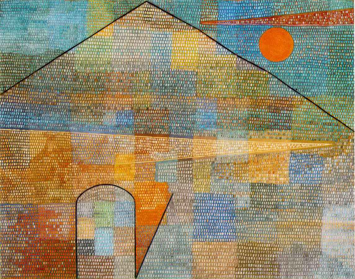 An Eye that Sees (Another that Feels) 4 lukisan paul klee,lukisan kubisme,degenerate art adalah,lukisan ekspresionisme paul klee,lukisan abstrak karya paul klee