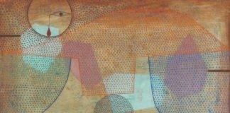 lukisan paul klee - Sunset