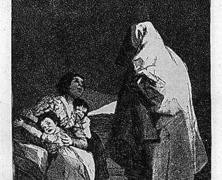 Los Caprichos 3 - Sketsa Francisco Goya