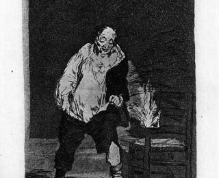 Sketsa Francisco Goya - Los Caprichos 18