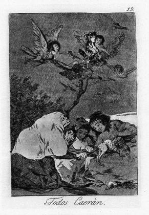 Sketsa Francisco Goya - Los Caprichos 19