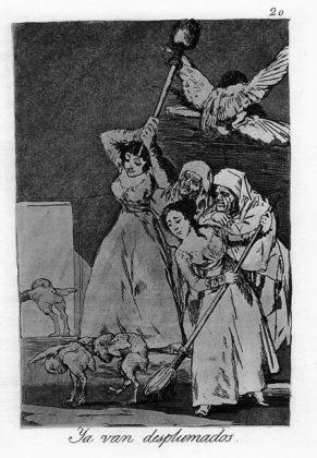 Sketsa Francisco Goya - Los Caprichos 20