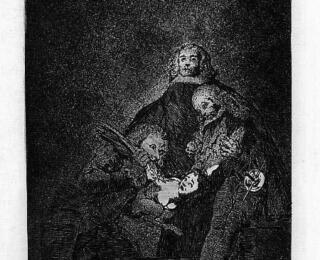 Sketsa Francisco Goya - Los Caprichos 21