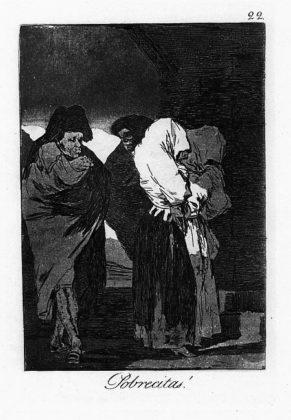 Sketsa Francisco Goya - Los Caprichos 22