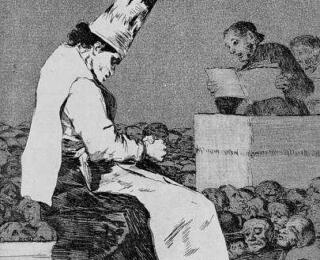 Sketsa Francisco Goya - Los Caprichos 23