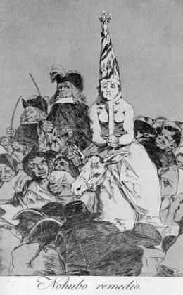 Sketsa Francisco Goya - Los Caprichos 24