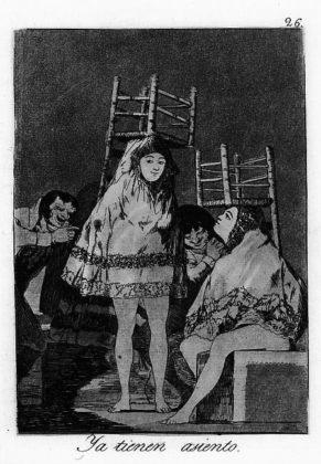 Sketsa Francisco Goya - Los Caprichos 26