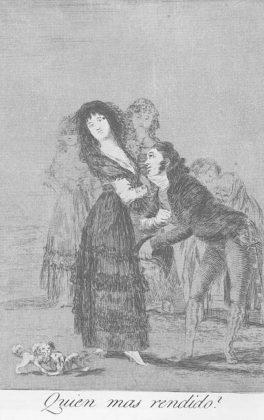 Sketsa Francisco Goya - Los Caprichos 27