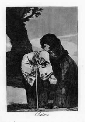 Sketsa Francisco Goya - Los Caprichos 28