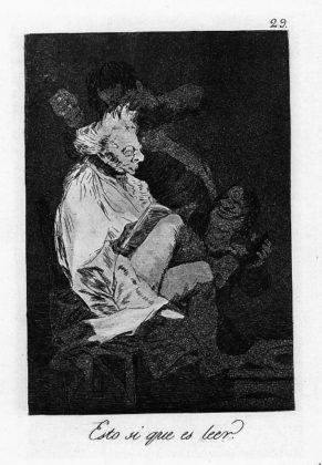Sketsa Francisco Goya - Los Caprichos 29