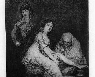Sketsa Francisco Goya - Los Caprichos 31