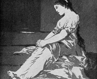 Sketsa Francisco Goya - Los Caprichos 32