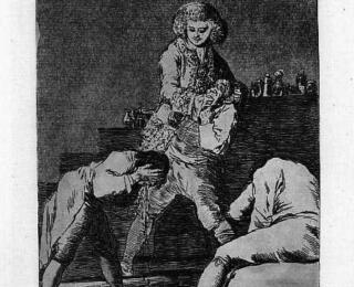 Sketsa Francisco Goya - Los Caprichos 33