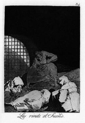 Sketsa Francisco Goya - Los Caprichos 34