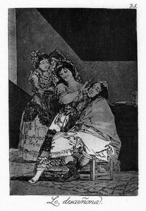 Sketsa Francisco Goya - Los Caprichos 35