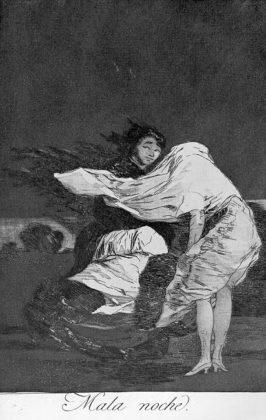 Sketsa Francisco Goya - Los Caprichos 36
