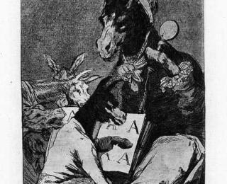 Sketsa Francisco Goya - Los Caprichos 37