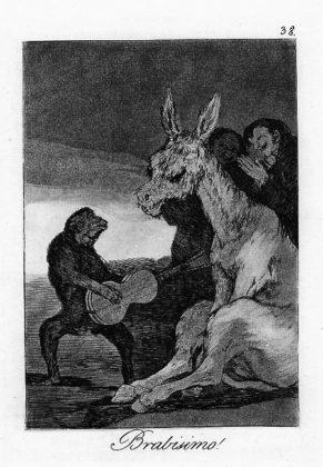 Sketsa Francisco Goya - Los Caprichos 38