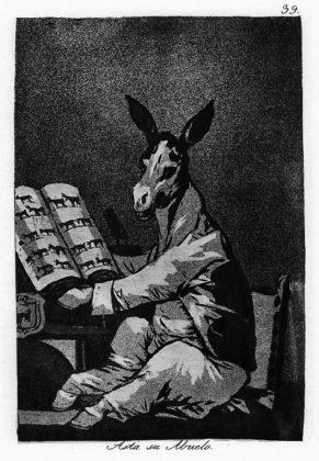 Sketsa Francisco Goya - Los Caprichos 39