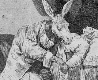 Sketsa Francisco Goya - Los Caprichos 40