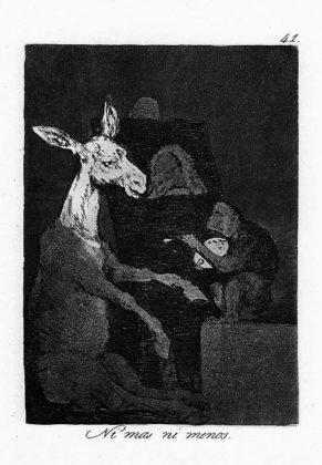 Sketsa Francisco Goya - Los Caprichos 41