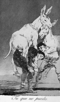 Sketsa Francisco Goya - Los Caprichos 42