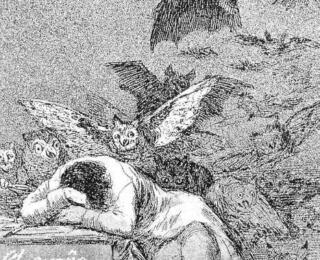 Sketsa Francisco Goya - Los Caprichos 43