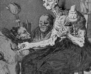 Sketsa Francisco Goya - Los Caprichos 44