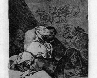 Sketsa Francisco Goya - Los Caprichos 46