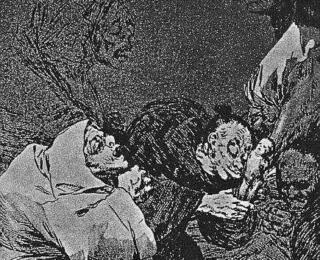 Sketsa Francisco Goya - Los Caprichos 47
