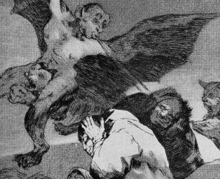 Sketsa Francisco Goya - Los Caprichos 48