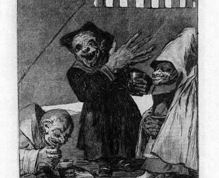 Sketsa Francisco Goya - Los Caprichos 49