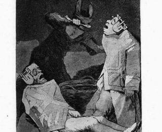 Sketsa Francisco Goya - Los Caprichos 50