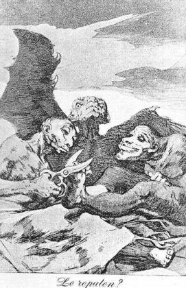 Sketsa Francisco Goya - Los Caprichos 51