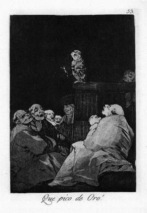Sketsa Francisco Goya - Los Caprichos 53