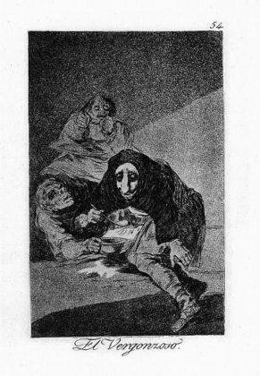 Sketsa Francisco Goya - Los Caprichos 54